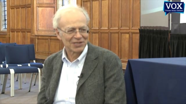 The Ethics of Food: The Making of a Vegetarian and Professor of Bioethics – Peter Singer