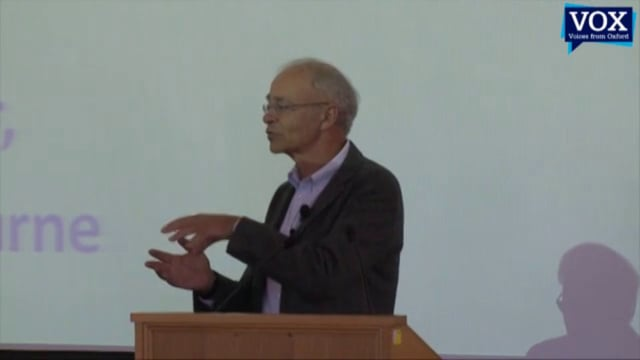 Peter Singer: Eating Ethically Lecture
