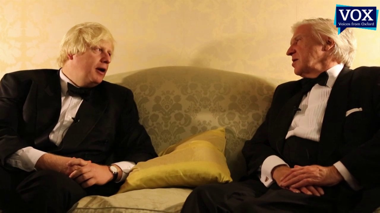 Boris Johnson interviewed by Sir Drummond Bone