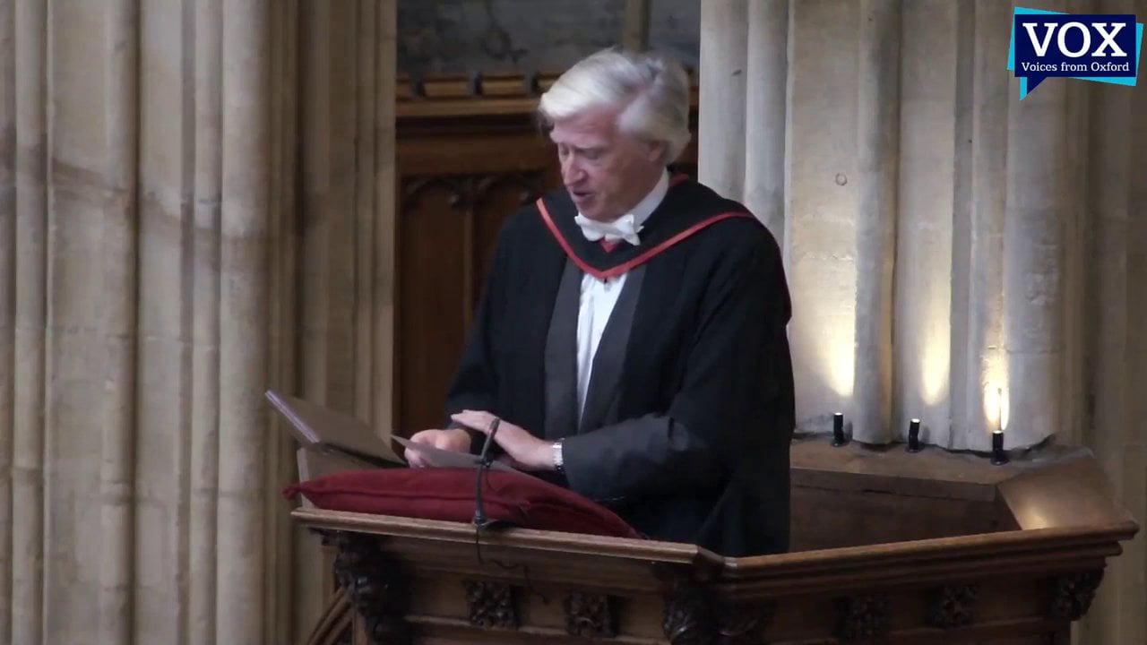 Bidding Prayer by Sir Drummond Bone at a Service of Thanksgiving