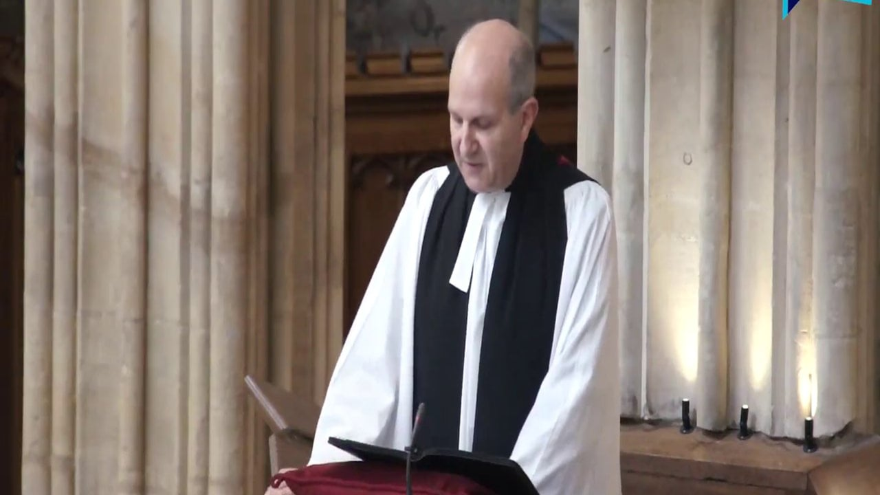 Sermon by Michael Sadgrove at a Service of Thanksgiving