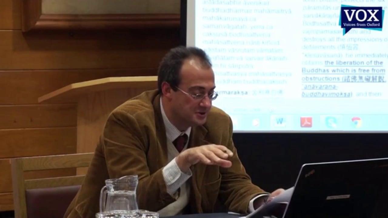 Prof Stefano Zacchetti – Literary Buddhism