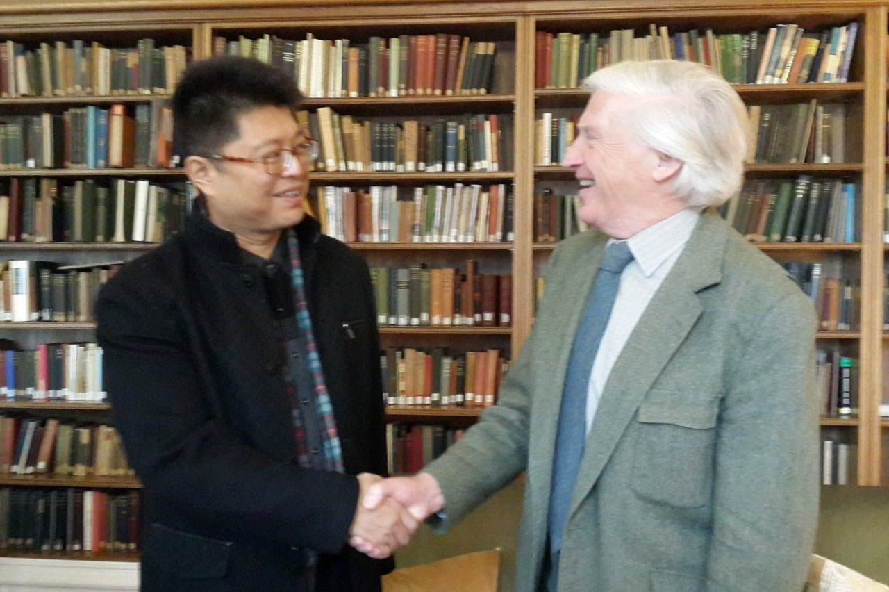 Suzhou Delegation Visits Oxford