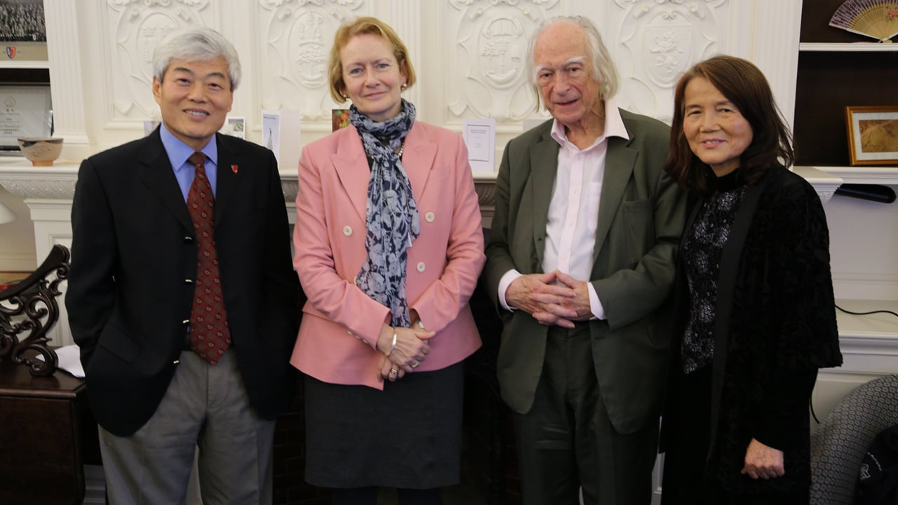 Prof Youmin Xi – Visit to Oxford Highlights