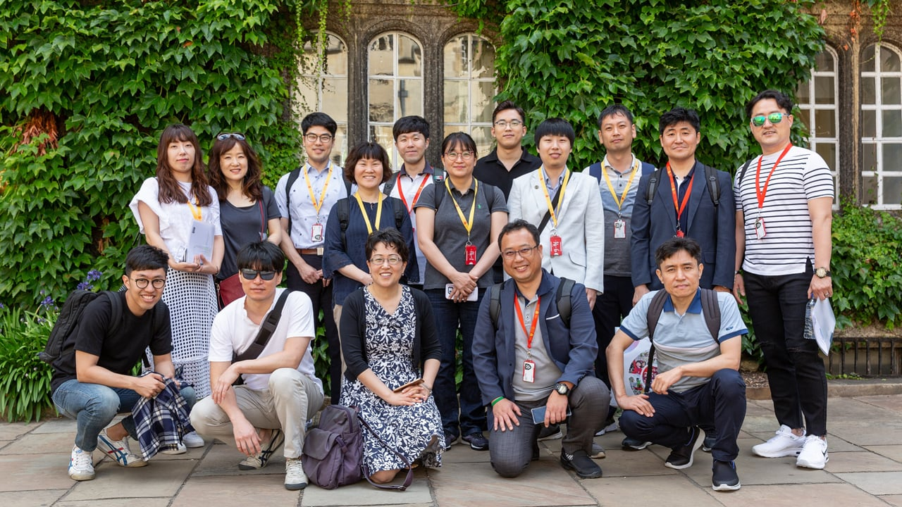 Daegu STEAM Teachers at Oxford University