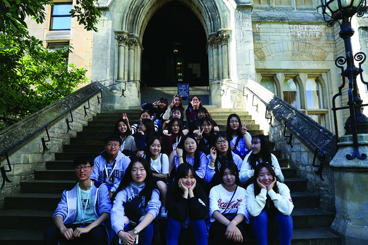 Daegu Foreign Language High School Students – Tour of Oxford