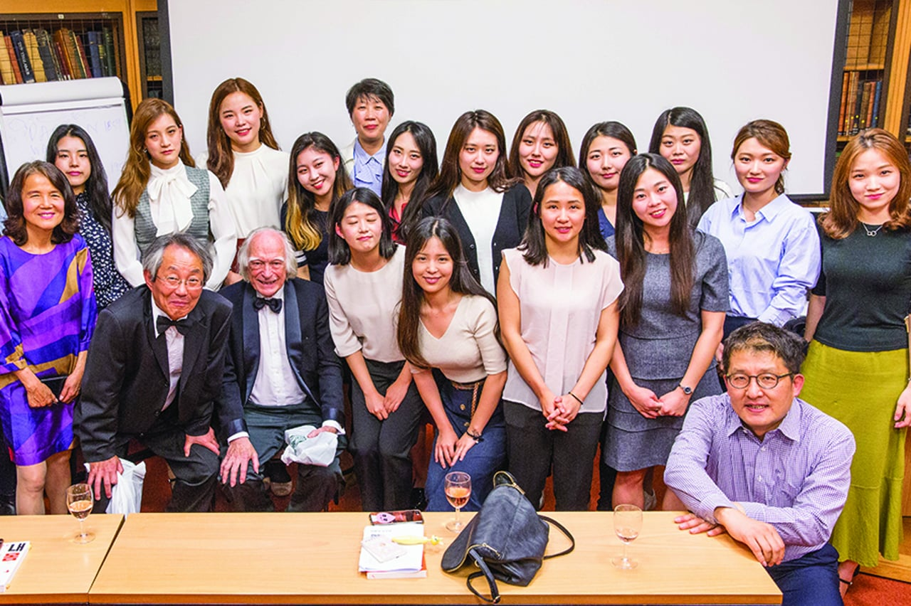 Prof Denis Noble and Prof Yung E Earm – Photo Slideshow