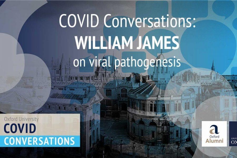 VOX Editor, Professor William James on viral pathogenesis