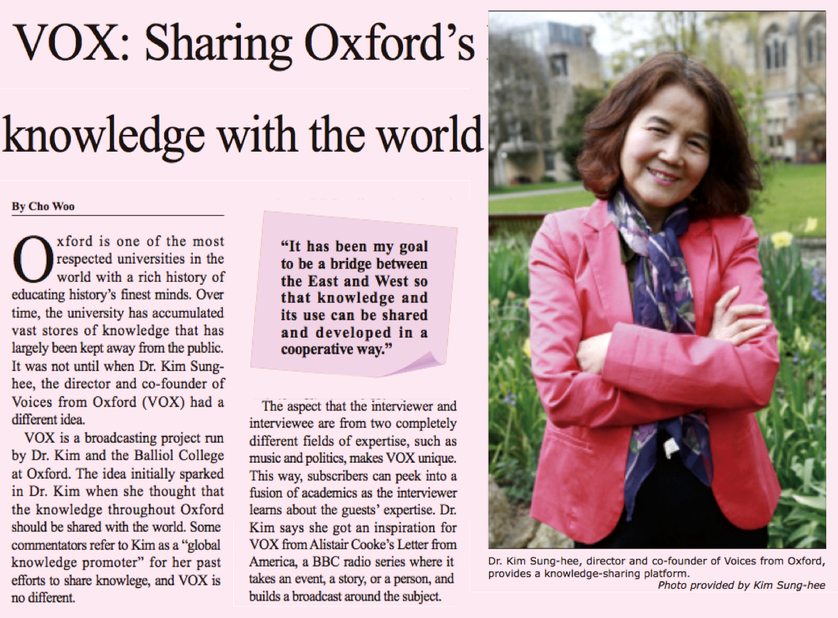 Sharing Oxford's knowledge worldwide